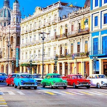 Wacky Races Havana Cuba  by tommysphotos