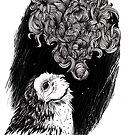 Owl Smoke by inkedinred
