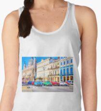Wacky Races Havana Cuba  Women's Tank Top