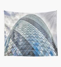 London The Gherkin 30 St Mary Axe Wall Tapestry