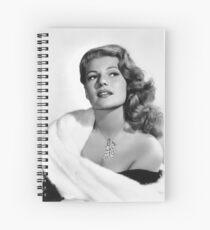 Rita Hayworth Spiral Notebook