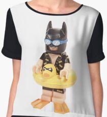 Bat Duck Women's Chiffon Top