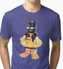 Bat Duck Tri-blend T-Shirt