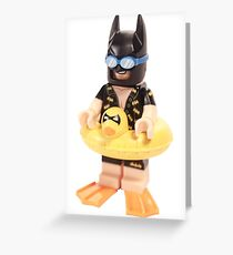 Bat Duck Greeting Card