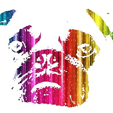 Rainbow Pug de PixelatedPixels