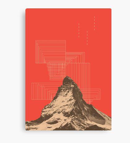 山 (v#2) Canvas Print