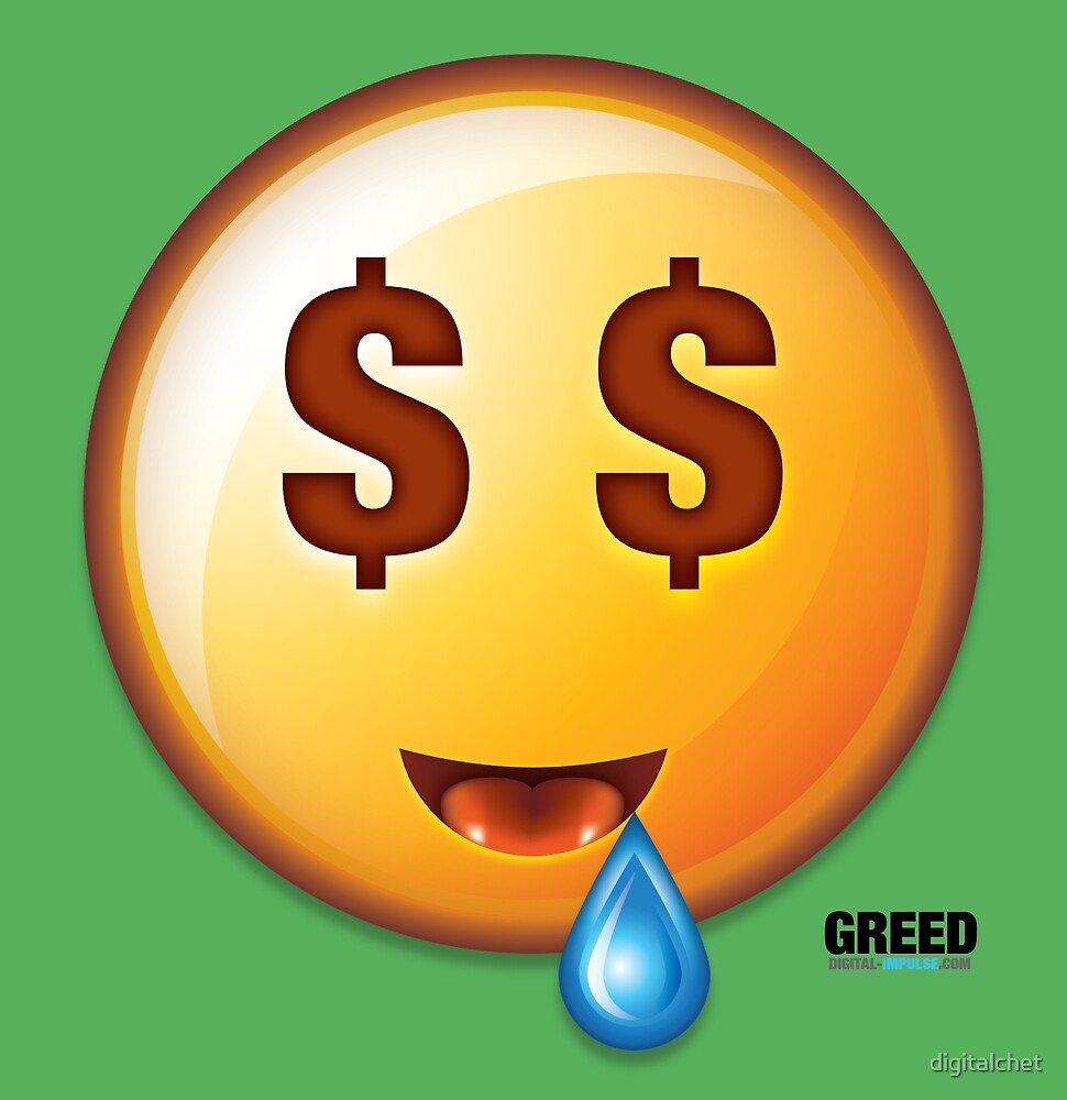 Greed - DigiCon by digitalchet