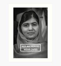 Malala Yousafzai Kunstdruck