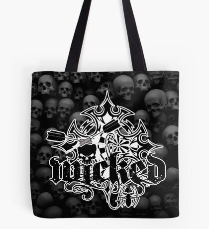 Wicked Darts Shirt Tote Bag