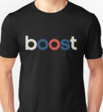 Boost - OG White Unisex T-Shirt
