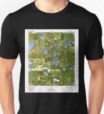 USGS TOPO Map Florida FL Crystal Lake 345706 1982 24000 Unisex T-Shirt