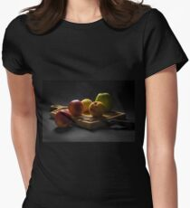 Healthy eating Womens Fitted T-Shirt