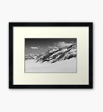 Top of Europe - Black Framed Print