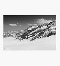 Top of Europe - Black Photographic Print