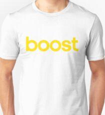 Boost - Gelb Unisex T-Shirt