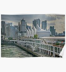 Canada Place and Vancouver Skyline Poster