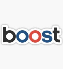 Boost - OG Black Sticker
