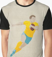 SUMMER GAMES / Rugby Graphic T-Shirt
