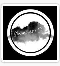 STAUNCHCORE CO. - Cloud Logo White Edition Sticker
