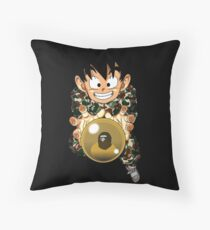 goten x bape Throw Pillow