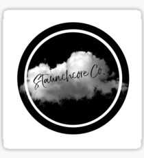 STAUNCHCORE CO. - Cloud Logo Black Edition Sticker