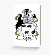 Byron  Greeting Card