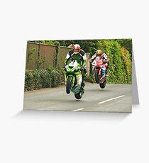 Isle of Man TT Greeting Card