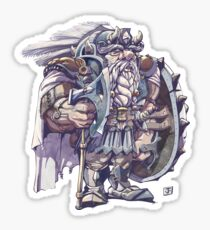 Mountain Dwarf Sticker