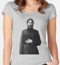 Rasputin The Mad Monk Women's Fitted Scoop T-Shirt