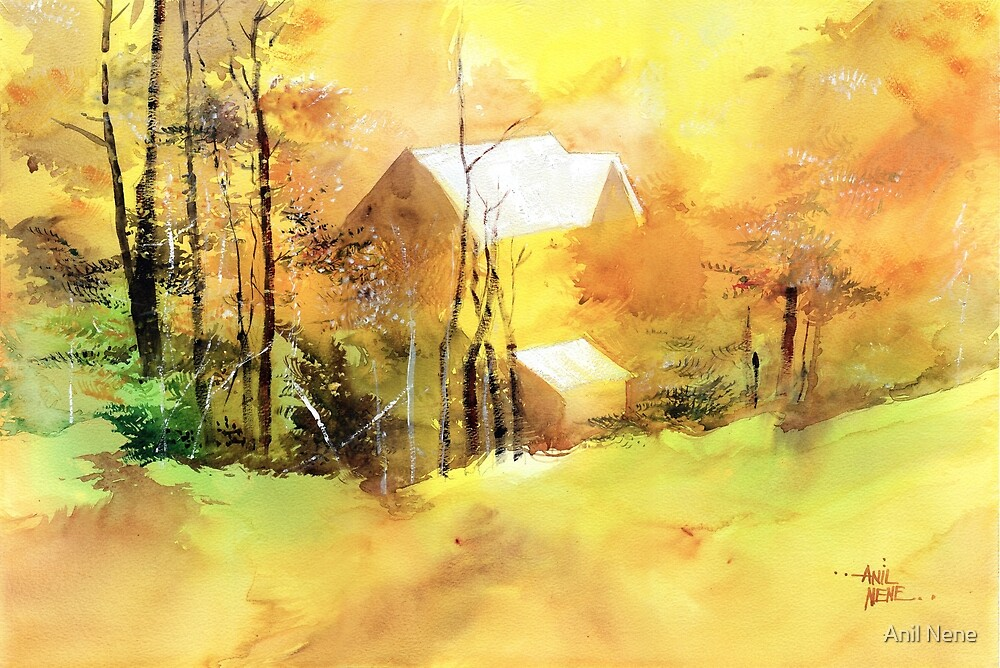 Welcome Winter by Anil Nene