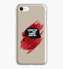 Thermite: A really big f****** hole, coming right up! iPhone Case/Skin