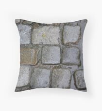 Cobblestones Throw Pillow