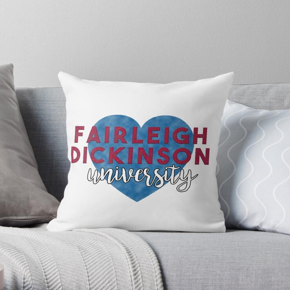 Fantastic Fairleigh Dickinson University Throw Pillow Dailytribune Chair Design For Home Dailytribuneorg
