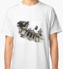 Police Box above the Saint Paul Cathedral  Classic T-Shirt