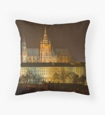 Prague Castle, Czech Republic Throw Pillow