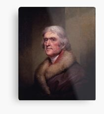 President Thomas Jefferson Metal Print