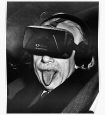 Albert Eintsein VR Poster