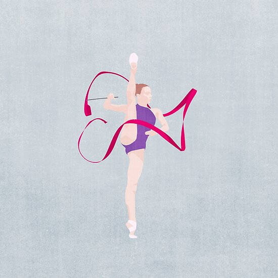 SUMMER GAMES / Rhythmic Gymnnastics von Daniel Coulmann