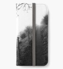 Rainy Day in Winter...Black Forest iPhone Wallet/Case/Skin