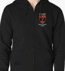 Prince Alfred's Guard - Chest Emblem Zipped Hoodie