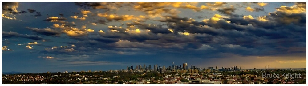 Melbourne Afternoon by Bruce Knight