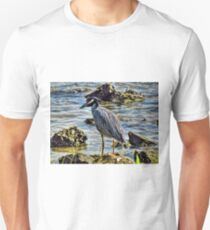 Yellow Crowned Night Heron 2 T-Shirt