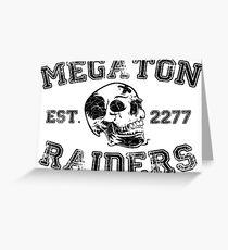 Megaton Raiders Greeting Card