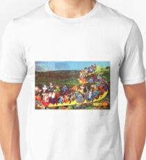 MEGO - FOLLOW THE YELLOW BRICK ROAD - 1975 Unisex T-Shirt
