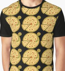 Pizza Vinyl Graphic T-Shirt