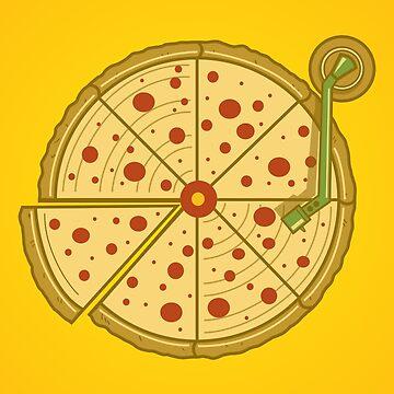 Pizza Vinyl by myoubi