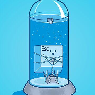 The Escape Artist by myoubi
