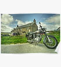 Enfield Bullet at the Engine Inn  Poster