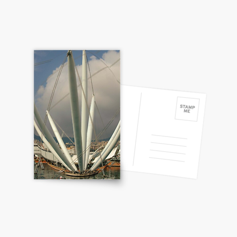 Welcome to Genova!!!! Postcard