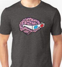 3D Glasses Blow My Mind! Unisex T-Shirt